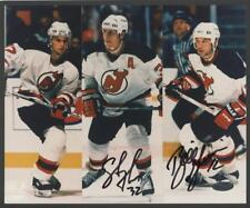 Bill Guerin & Steve Thomas dual-signed 8x10 (DEVILS - Autograph) Steiner Cert!