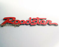 Enamel Chrome Roadster Script CAR BADGE Mazda MX5 Eunos RED MX 5