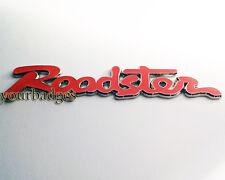 Enamel Chrome Roadster Script CAR BADGE Mazda MX5 Eunos RED MX 5