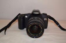 Canon EOS Elan II 35mm SLR Film Camera Body w/ case & Sigma 28-105mm Lens
