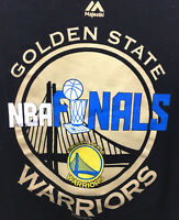 Stephen Curry Men's T-Shirt Golden State Warriors NBA Finals #30 Majestic Size M
