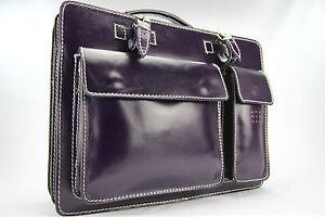 Business- und Laptoptaschen Luxus Aktentasche Lila L
