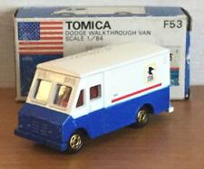 F53 Out of print Tomica Dodge Walk Through Van Foreign Car Series 1/84