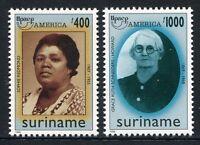 Surinam 1998 UPAEP Frauen Women 1659-1660 Postfrisch MNH