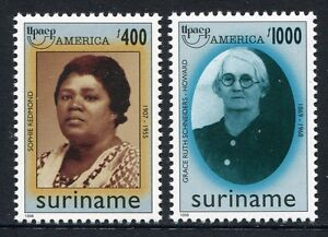 Surinam 1998 UPAEP Frauen Women Post 1659-1660 Postfrisch MNH