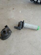 1990 1991 Kawasaki KX 125 KX125 KX250 KX 250 Throttle with rubber boot