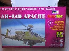 REVELL Snap TITE in Scatola piano APACHE AH-64D 1/100 85-1373