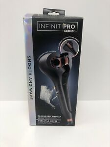InfinitiPro By Conair Smooth and Wave Hair Styler - Black