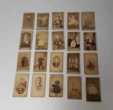 Antique Cabinet Card cdv lot of 20