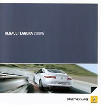 Prospekt / Brochure Renault Laguna Coupé 05/2010
