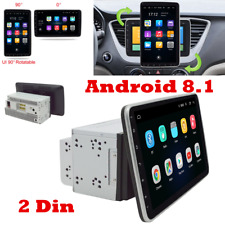 Double 2Din Android 8.1 9in 1080P Car Player Stereo Radio GPS Wifi Quad Core