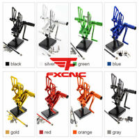 For Honda VFR400 NC30 RVF400 NC35 Rearset Footrest Footpeg Brake Lever Shift GP