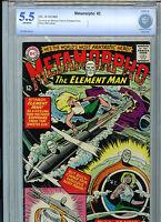 Metamorpho The Element Man #2 CBCS 5.5 FN- 1965 Silver Age DC ComicAmricons BX4