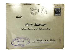 Old Collectible Cover 1913 from Belgium to Germany Empire Rare Envelope & Stamp
