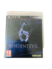 Jeu Resident Evil 6 Ps3 PlayStation 3 En Bon État Avec Boîtier Pal