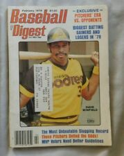 Dave Winfield San Diego Padres February 1979 Baseball Digest ex