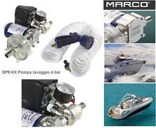 MARCO DP9 KIT POMPA AUTOCLAVE AUTOMATICA 4bar DOCCIA e LAVAGGIO 12V BARCA CAMPER