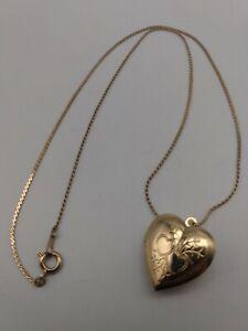 Pendant Heart Locket Girls Necklace