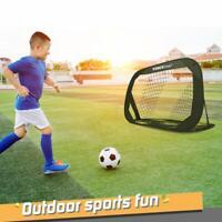 Forcefree+ Soccer Goal-Portable Pop-Up Soccer Net Goal for Kids Home Training