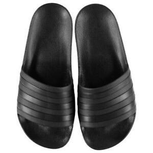 Adidas Sliders Sandals Shoes Slip Ons Sport Pool Black Black Slippers FlipFlop