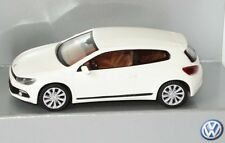 VW SCIROCCO III 3 2009 GT TSI TDI CANDY WHITE 1:87 WIKING (OEM DEALER MODEL)