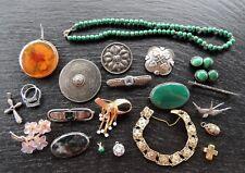 Großes Schmuckkonvolut 585/333 Gold, Silber antik, Jugendstil, Art Deco 22 Teile