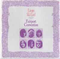 FAIRPORT CONVENTION ~ Liege And Lief ~ Rare Remastered PROMO 8-track CD album