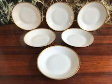 Rosenthal Forma 2000 Blanco con Grabado Borde Oro - 6 Noble Profundidad Plato Ø