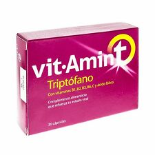 Vitamin-t Tryptophan 30 Caps. Decay, stress, psychic fatigue and insomnia