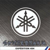 Yamaha logo - 15 cm - Stickers autocollants adhésifs voiture