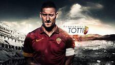 POSTER FRANCESCO TOTTI A.S. AS ROMA 10 ROME SOCCER FOOTBALL CALCIO CAPITANO #23