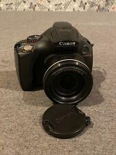 Canon PowerShot SX40 HS 12.1MP Digital Camera - Black - (as-is) Free Ship