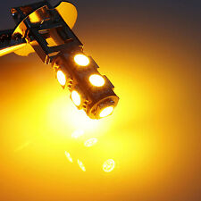 1PC H3 5050 9 LED Cornering lamp Fog Head Light Lamp Bulb Pure Yellow DC 12V
