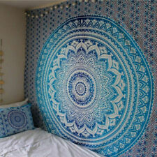 Hippie Tapestry Wall Hanging Indian Mandala Bohemian Tapestries Bedspread Decor