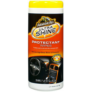 Armor All Ultra Shine Protectant Wipes, 20 wipes