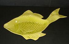 Very Rare 1950s Cemar California Pottery Ceramics Fish Figure Dish LRG 19x11