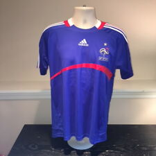 d81a581dd France FFF French National Soccer Team Jersey Adidas Mens XL