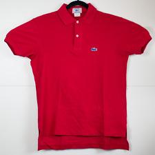 Vintage 70s 80s Izod Lacoste 2 Button Polo Shirt Size L Preppy Take Ivy New