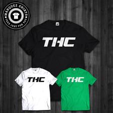 T-Shirt THC Funny MMA Parody Cannabis Marijuana Weed Tee
