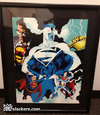 Superman: The Man Of Tommorow Lt. Ed. Print  36/250 Signed COA RARE COLLECTIBLE!