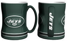 New York Jets Coffee Mug - 15oz Sculpted [NEW] Tea Warm Microwave Cup CDG