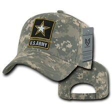 United States Army Star US Universal Digital Camo Cotton Baseball Ball Cap Hat