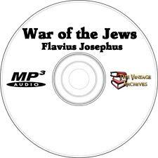 The War of the Jews - Unabridged Audiobook MP3 CD - Flavious Josephus