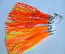 "4 New MetalHead Smoker Skirt Trolling Fishing Lure 8"""