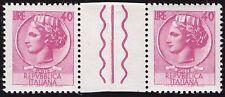 REPUBBLICA 1968 - 40 Lire SIRACUSANA FALSO x POSTA INTERSPAZIO F1075 € 40++