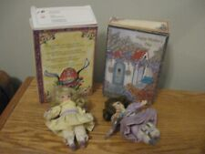 Marie Osmond Greeting Card Dolls Set Of 2 Easter & Mother'S Day By Knickerbocker