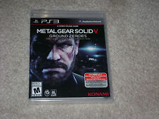 METAL GEAR SOLID V GROUND ZEROES...PS3...***SEALED***BRAND NEW***!!!!