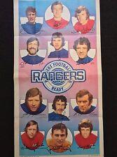 A&BC Gum Rangers Football Club 1972-73 No. 15 Giant team Poster Memorabilia