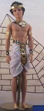 Amber Gold Egyptian King Pharoh~OOAK Barbie Ken Doll Repaint
