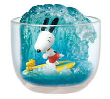 """Snoopy Terrarium Collection """" Surfing """" from Japan Re-Ment  SALE NEW"""